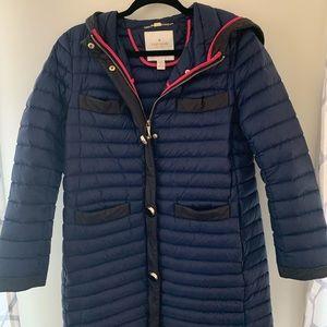 Kate Spade Navy Puffer Coat